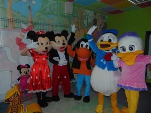mascote Disney